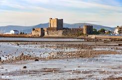 Замок Carrickfergus, Северная Ирландия Стоковое Изображение