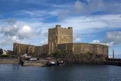 Замок Carrickfergus Стоковые Изображения RF