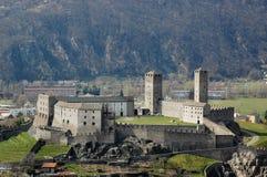 замок castelgrande Стоковое Изображение RF