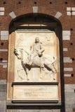 Замок Castello Sforzesco Sforza в милане, Ломбардии, Италии, 13 Стоковые Изображения