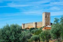 Замок Castelo de Portel alentejo Португалия Стоковое Изображение RF