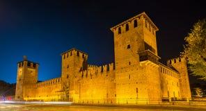 Замок Castelvecchio в Вероне Стоковая Фотография