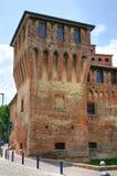 Замок Cento. Эмилия-Романья. Италия. Стоковое Фото