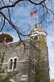 Замок Central Park в Нью-Йорке Стоковое Изображение RF