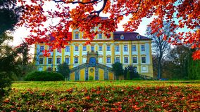 Замок Cerveny Hradek Стоковая Фотография RF