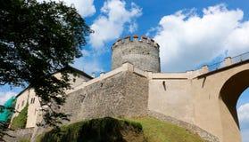 Замок Cesky Sternberk, чехия Стоковое фото RF