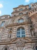 Замок/Château de Brissac стоковые фотографии rf
