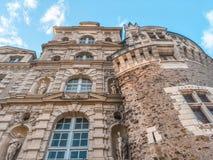 Замок/Château de Brissac стоковые изображения