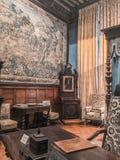 Замок/Château de Brissac стоковая фотография rf