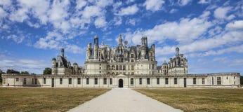Замок Chambord Стоковое Изображение RF