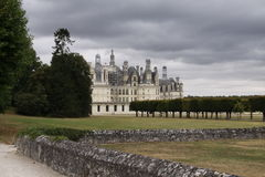 Замок Chambord Стоковая Фотография RF