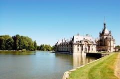 замок chantilly Стоковое Изображение
