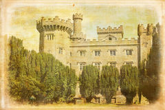 Замок Charleville Tullamore Ирландия стоковые изображения rf