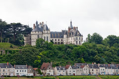 Замок Chaumont-sur-Луары. стоковое фото rf