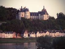 Замок Chaumont-sur-Луары Стоковая Фотография