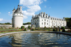 Замок Chenonceau Стоковое Изображение