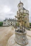 Замок Chenonceau стоковое фото rf