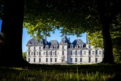 замок cheverny de Франция loire стоковое фото