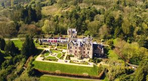Замок Co Белфаста Антрим Ирландия стоковые фото