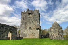 замок co galway Ирландия aughnanure Стоковая Фотография