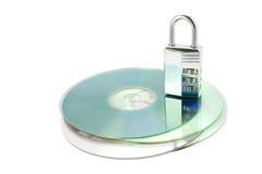замок combonation cds Стоковые Изображения RF