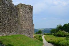 замок conwy стоковые фото