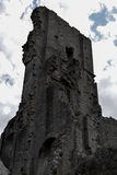 Замок Corfe Стоковая Фотография RF