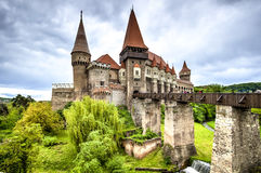 Замок Corvin, Hunedoara, Румыния Стоковая Фотография RF