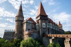 Замок Corvin Hunyadi, Hunedoara - Румыния Стоковая Фотография RF