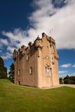 Замок Crathes, Banchory, Aberdeenshire, Шотландия Стоковые Изображения