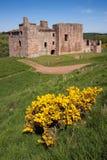 Замок Crichton, Эдинбург, Шотландия Стоковые Фотографии RF