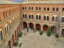 замок cuenca Испания belmonte стоковая фотография