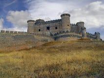 замок cuenca Испания belmonte стоковое изображение rf