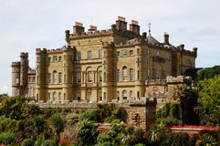 замок culzean Шотландия Стоковая Фотография