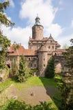 Замок Czoch, Lesna, Польша Стоковая Фотография