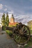 Замок Czocha в Польше Стоковые Фото
