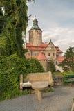 Замок Czocha в Польше Стоковая Фотография