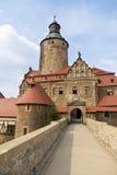 Замок Czocha в Польше Стоковое Изображение RF