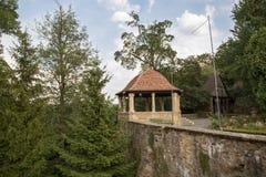 Замок Czocha в Польше Стоковые Изображения RF
