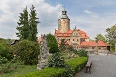 Замок Czocha в Польше Стоковое Изображение