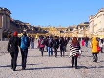 Замок de Версаль Стоковая Фотография