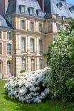Замок de Фонтенбло дворца Фонтенбло около Парижа, Франции стоковая фотография rf