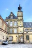Замок de Фонтенбло дворца Фонтенбло, Франция стоковое изображение rf