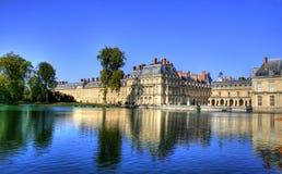 Замок de Фонтенбло, Франция стоковые фотографии rf