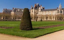 Замок de Фонтенбло, Франция стоковая фотография