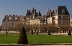 Замок de Фонтенбло, Франция стоковое фото