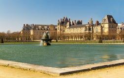 Замок de Фонтенбло, Франция стоковые фото