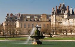 Замок de Фонтенбло, Франция стоковая фотография rf