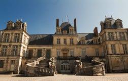 Замок de Фонтенбло, Франция стоковые изображения