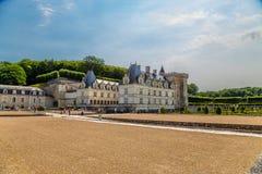 замок de Франция villandry строя основа стоковое фото
